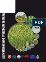 Agricultural Land Availability in Bangladesh