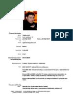 Capitan Ionut CV (Bun)