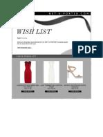 Amanda Rizk's Wish List 2014