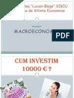 Cum investim 10000 € - macroeconomie