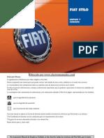 Manual Usuario Fiat Stilo