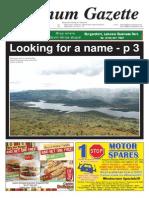 Platinum Gazette 31 January 2014