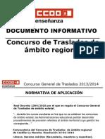 CONCURSO DE TRASLADOS CLM 2014
