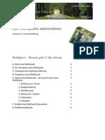 Unterricht mit WebQuests - Handout zur  Lehrerfortbildung
