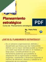 Curso de  Planeamiento estratégico - pedro peña h