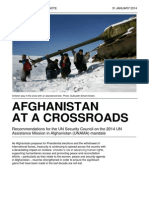 Afghanistan at a Crossroads