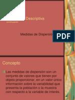 Estadistica Descriptiva Dispersion