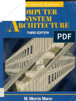 Computer System Architecture (Morris Mano)