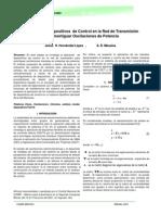 Utilización de Dispositivos de Control en la Red de Transmisión para Amortiguar Oscilaciones de Potencia