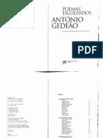Antonio Gedeao Poemas Escolhidos