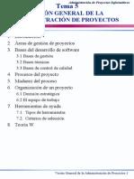 Tema Proyectos