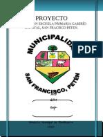 PERFILES AMPLIACION ESCUELA PRIMARIA CASERÍO ZAPOTAL