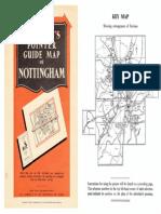 Nottingham Street Map c 1960