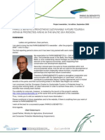 Parks and Benefits 1st Newsletter 09 2009
