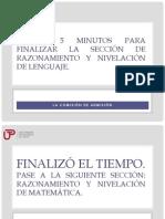 AVISO EXAMEN DE ADMISIÓN 2014-I