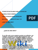 Actividad Power Point Wikis