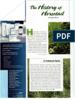 The History of Horsetail