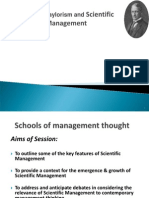 Week 2 - Taylorism and Scientific Management(1)