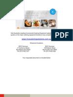 hallde food processor rg250 sales brochure_c