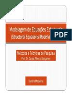 Análise de Equações Estruturais