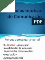 Escolas teoricas de comunicação