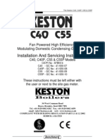 Keston C40 C55 Manual