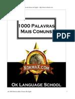 1000 Palavras Mais Comuns Em Ingles