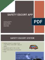 safety escort app--cis