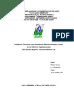 Ctg-069-2013 Inteligencia Emocional Como Herramienta Administrativa Para El Logro de Los Objetivos Organizacionales