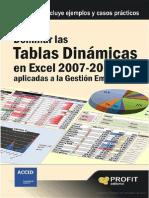 Dominar las tablas dinámicas en Excel