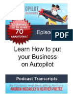 Learn How to Put Your Business on Autopilot