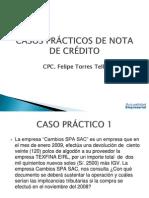 Casos Practicos Notas de Credito