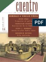 Encuentro homenaje a Virgilio Piñera
