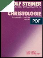 RUDOLF  STEINER - TTB 14 - CHRISTOLOGIE