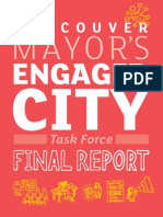 Engaged City Task Force - Final Report