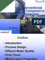 ActivateSludgeVS Membrane Reactor SLIDE
