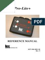 ProLite Plus Manual