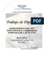 Administracion Efectivo Empresa Porcina 240108