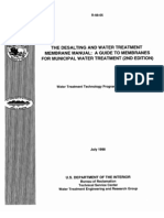 Desalting And Water Treatment MRB Manual 2nd Edi