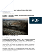 Canada Tar Sands Set to Benefit From EU 2030 Climate Plan