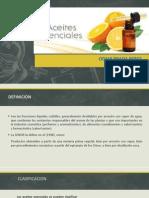 Generalidades de Los Aceites Esenciales
