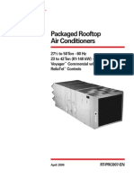 Packaged Rooftop Air Conditioners
