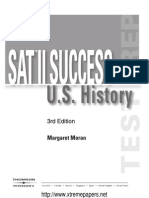 SAT II Success History