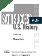 SAT II Success History