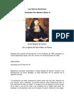 Las 15 Oraciones de - Santa Brigida