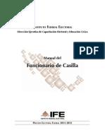 MANUAL Funcionario de Casilla