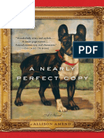 A Nearly Perfect Copy by Allison Amend - Excerpt