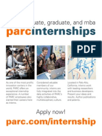 XEROX PARC Internships