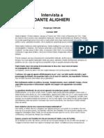 P. Odifreddi - Intervista a Dante Alighieri