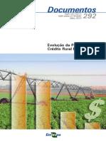 Evolucao Da Politica de Credito Rural Brasileira